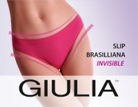 Бесшовные трусы Giulia SLIP BRASILIANA INVISIBLE